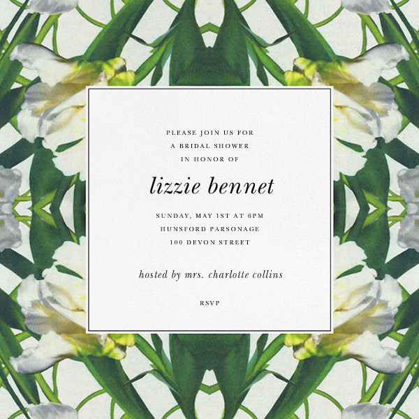 Parrot Tulip - Oscar de la Renta - Bridal shower