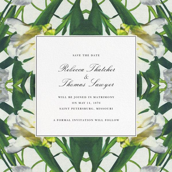 Parrot Tulip (Save the Date) - Oscar de la Renta