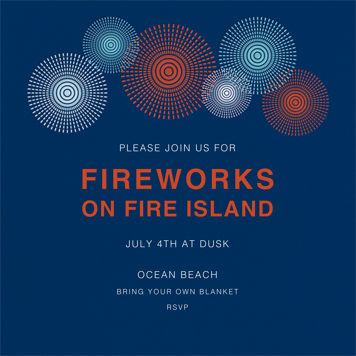 Fire Island Works - Jonathan Adler - 4th of July