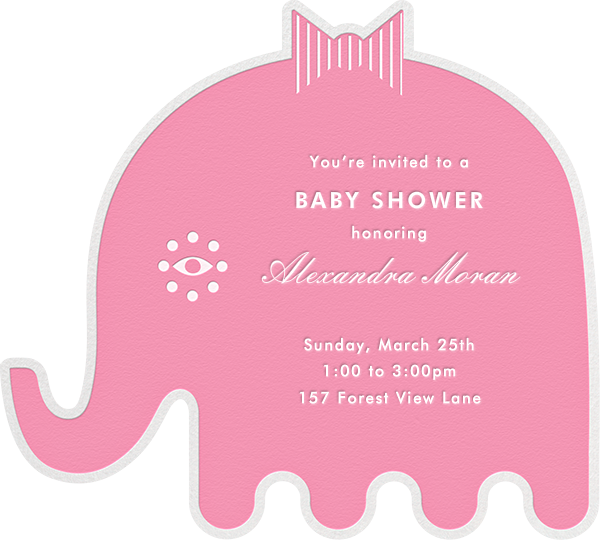 Circus Elephants - Pink - Jonathan Adler - Baby shower