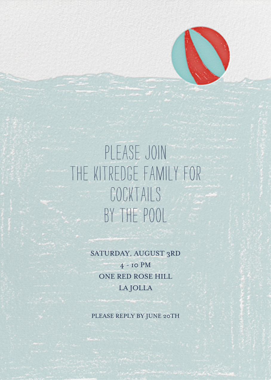 Deep End - Mr. Boddington's Studio - Pool party