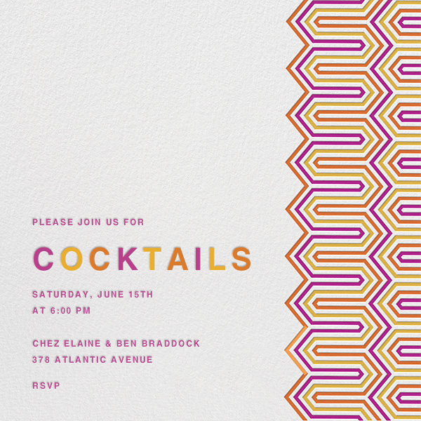 Bargello Square - Jonathan Adler - Cocktail party