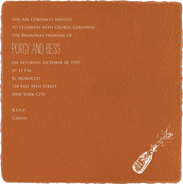 Deckle - Pumpkin Square - Paperless Post - null