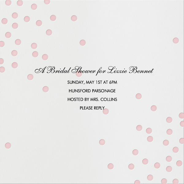Pink dots - Linda and Harriett - Bridal shower