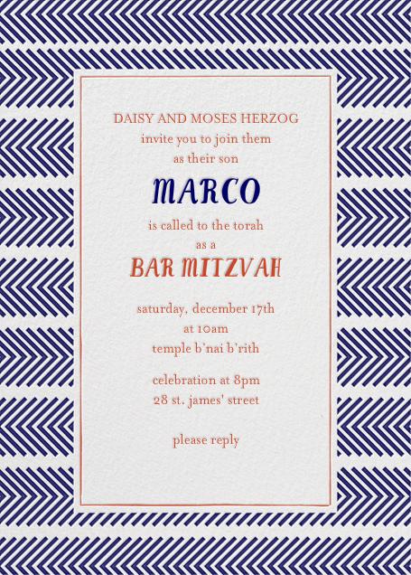 Zig Zag - Royal Bar Mitzvah - Mr. Boddington's Studio - Bar and bat mitzvah