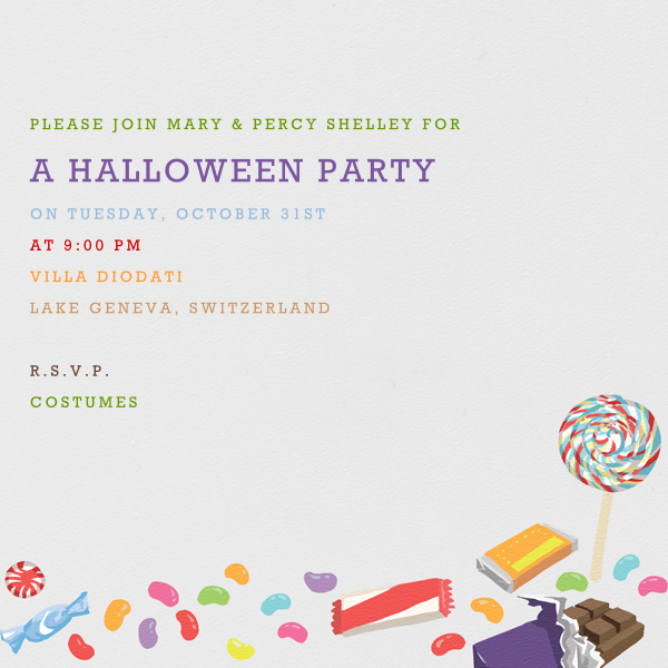 Trick or Treat - Paperless Post