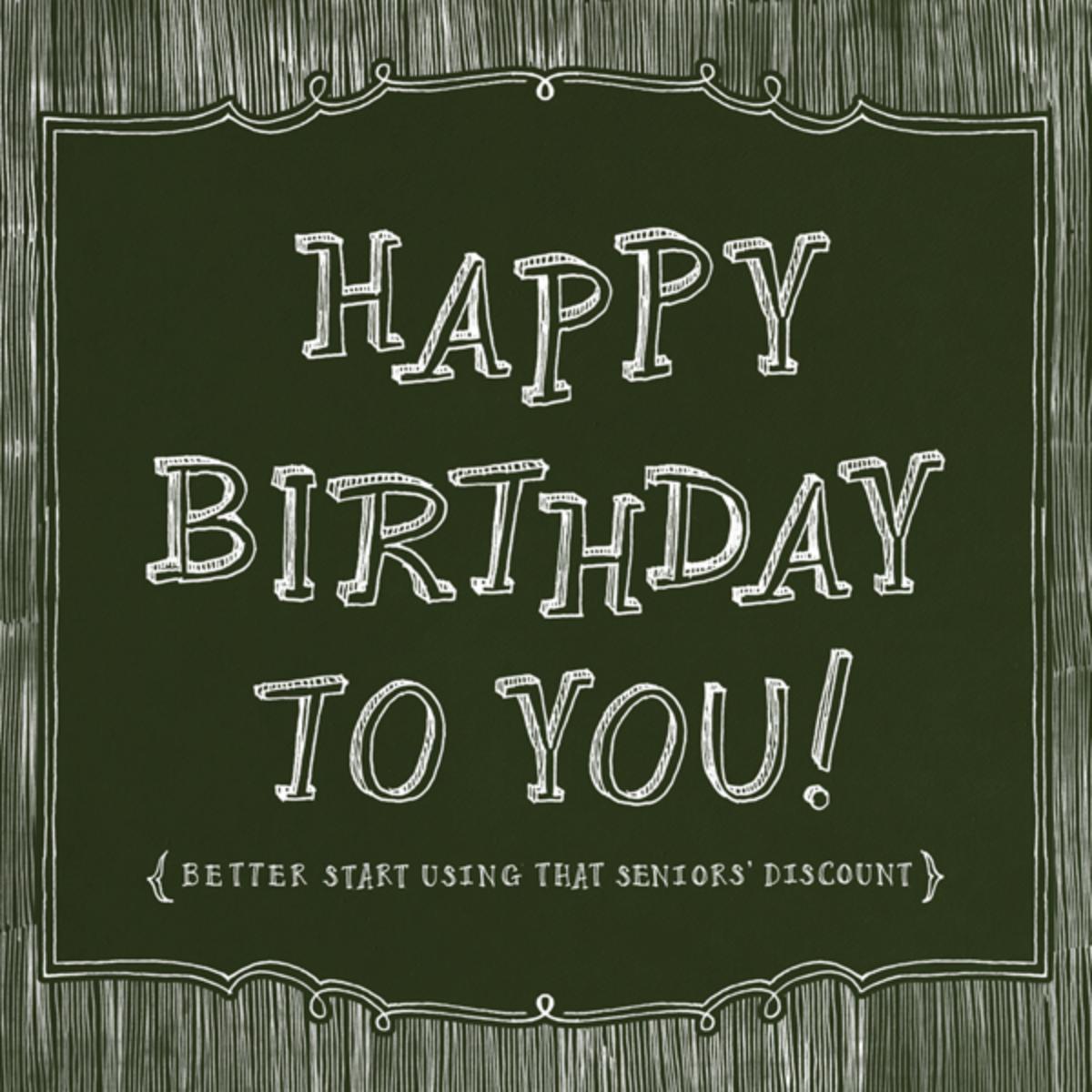 Chalkboard Happy Birthday - Paperless Post - Free birthday eCards