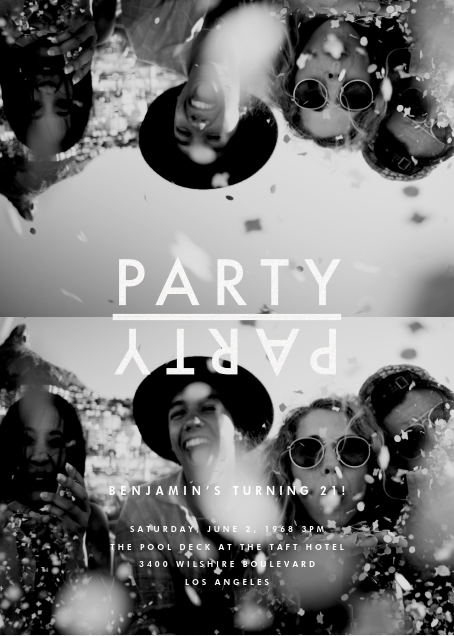 Party Flip - Paperless Post