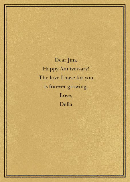 Tree Rings - Anniversary - Paperless Post - Anniversary - card back
