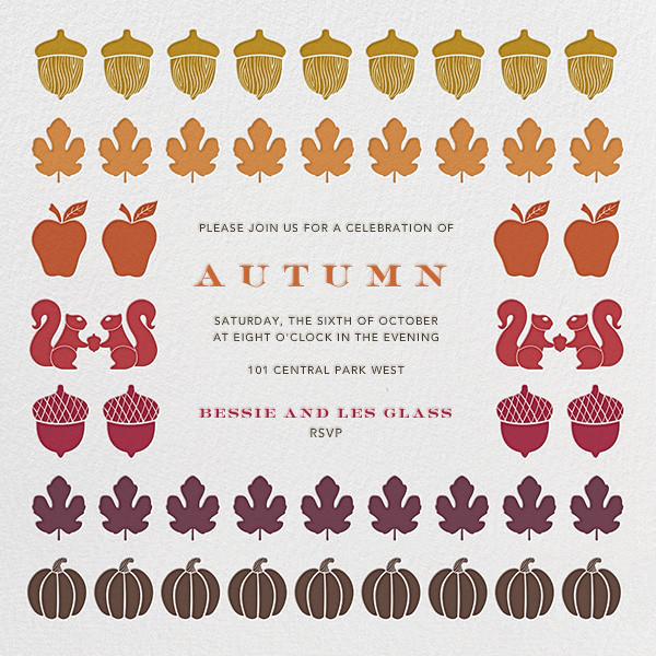 Autumn Stash - Jonathan Adler - Autumn entertaining