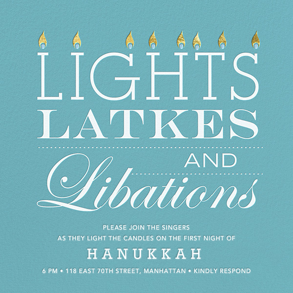 Lights, Latkes, and Libations - Jonathan Adler - Hanukkah