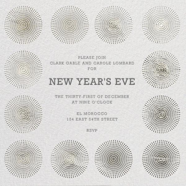 Santorini - Silver - Jonathan Adler - New Year's Eve