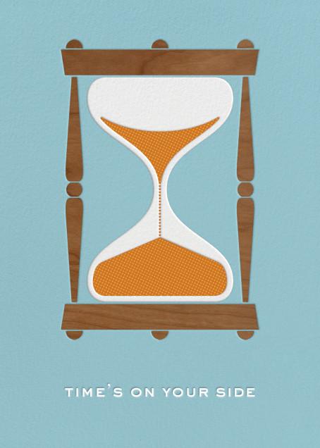 Hourglass - Birthday - Paperless Post