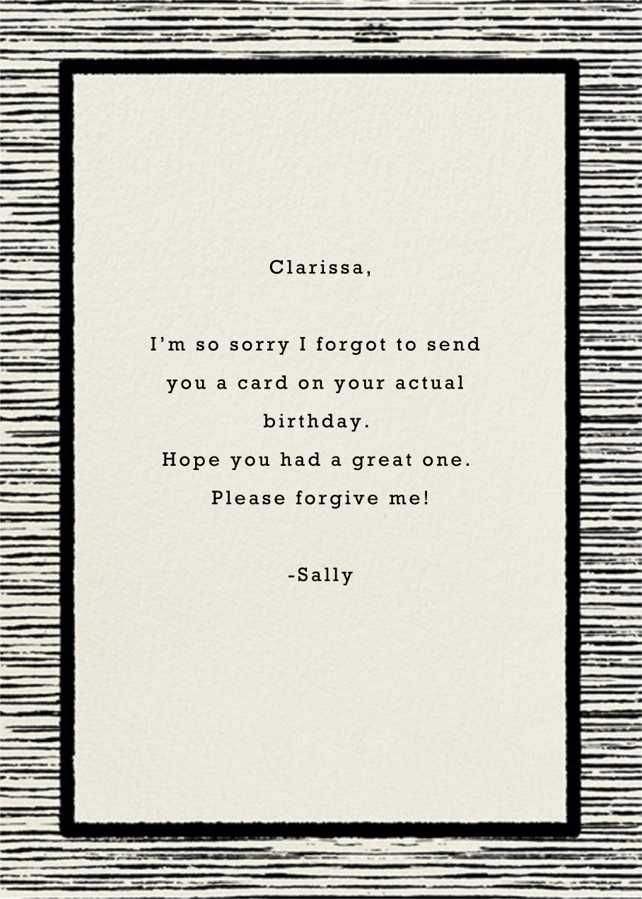 The Big Oyster - Belated Birthday - Paperless Post - Free birthday eCards - card back