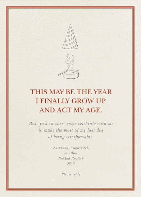 Oh, Grow Up! - Derek Blasberg - null