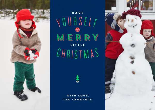 Christmas in St. Louis - Double Photo - Paperless Post - null