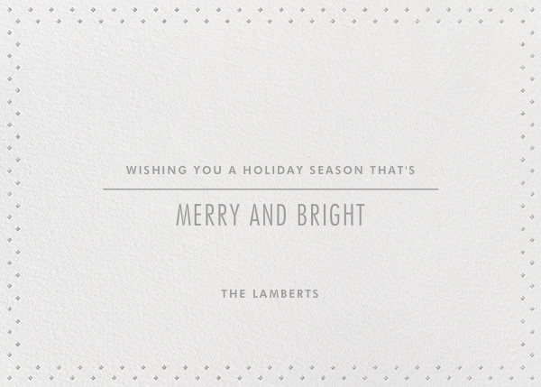 Winter Mood - Silver - Paperless Post - null - card back