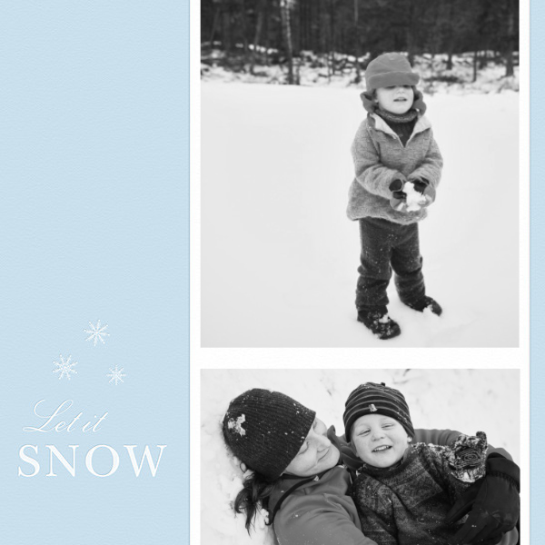 Let It Snowflake - Paperless Post - null