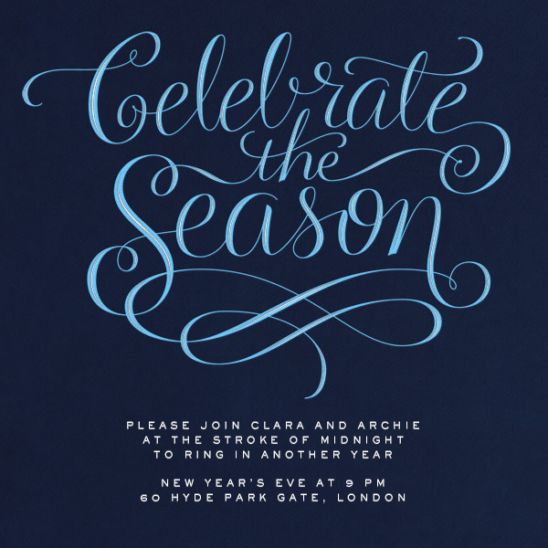 Celebrate The Season - Night - Paperless Post - Holiday party