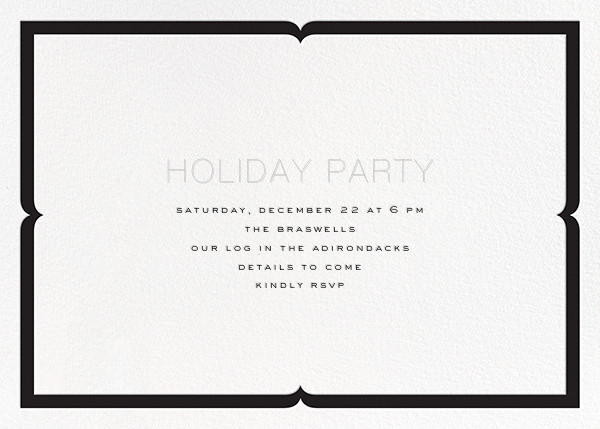 Please Join Us - Gold - bluepoolroad - Winter entertaining - card back