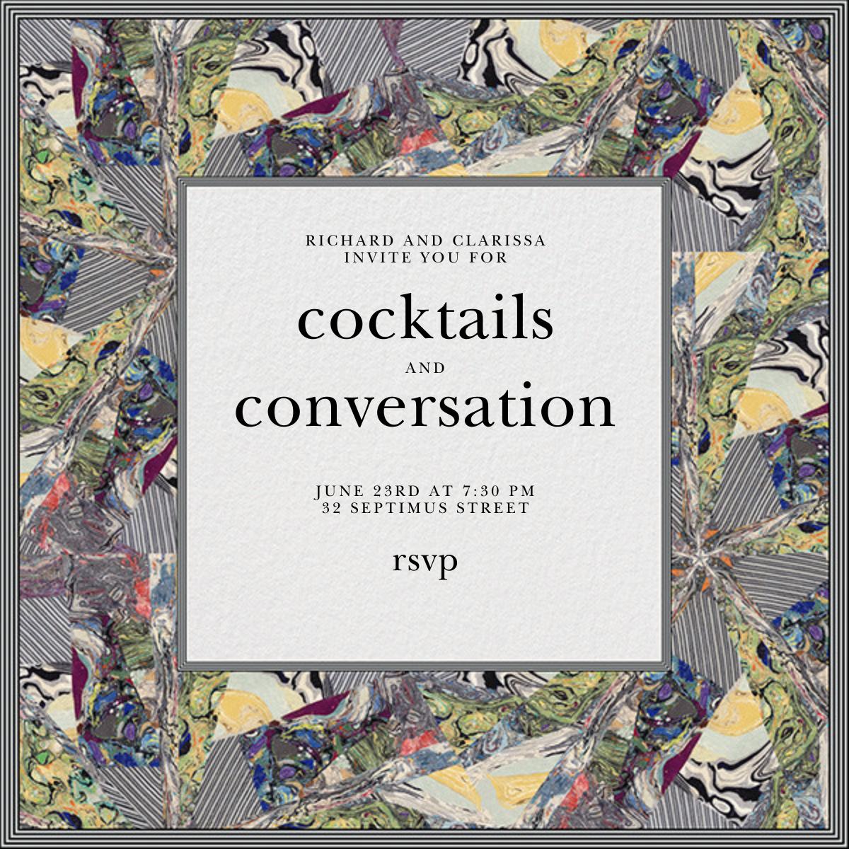 Kaleidoscope - Kelly Wearstler - Cocktail party
