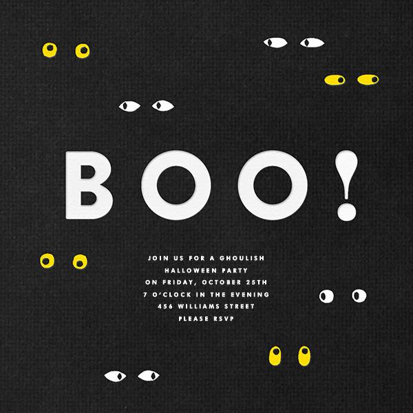 Spooky Eyes - The Indigo Bunting - Halloween