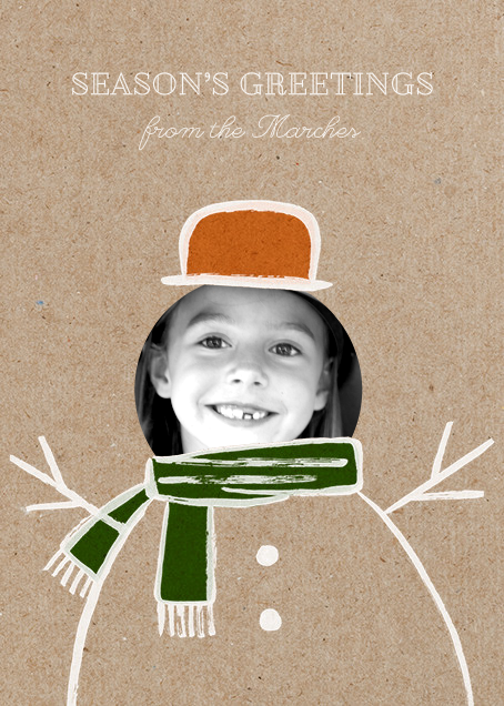 Frosty Doodle - Paperless Post - Holiday cards
