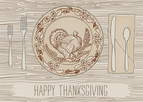 Thanksgiving Place Setting - Paperless Post - Thanksgiving