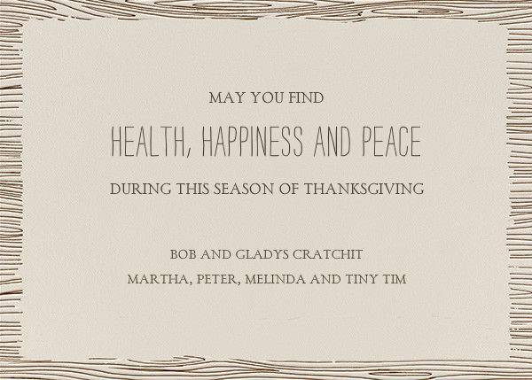 Thanksgiving Place Setting - Paperless Post - Thanksgiving - card back