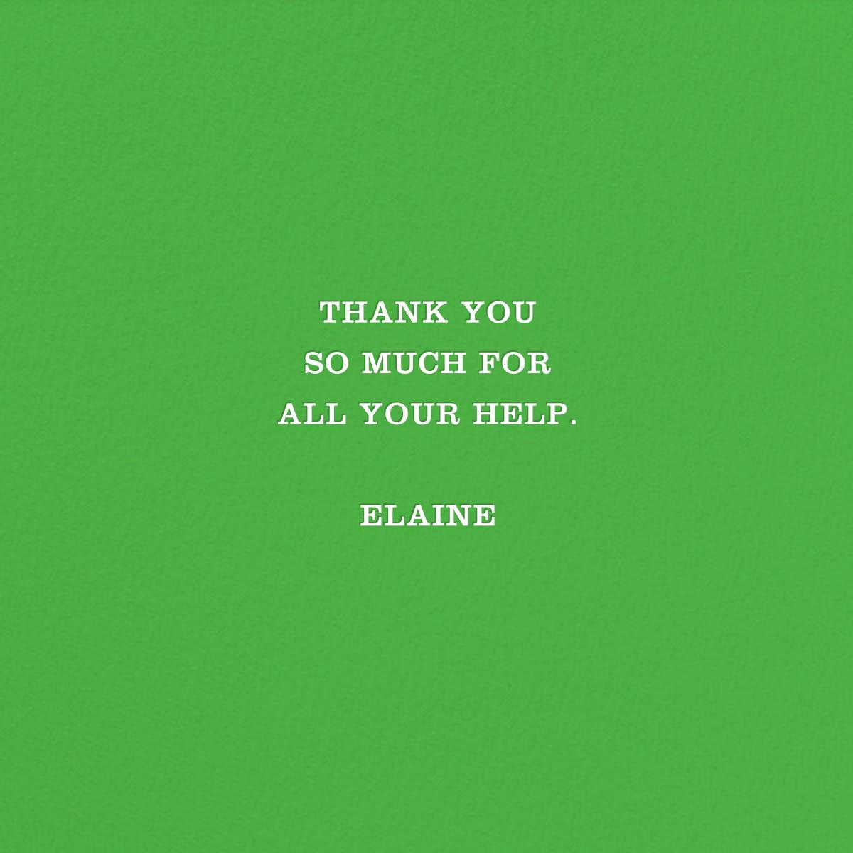 Boom - Jonathan Adler - Thank you - card back