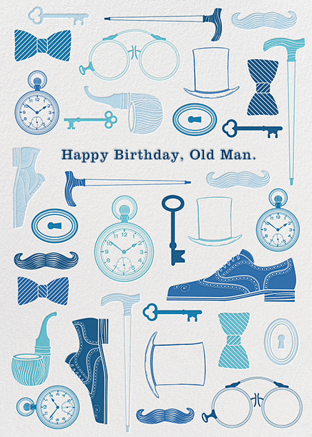 Trappings of a Gent - Jonathan Adler - Birthday