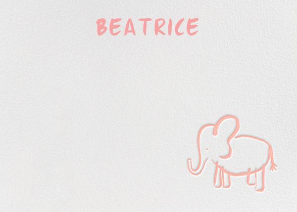 Little Big Ears - Rose - Linda and Harriett - Kids' stationery