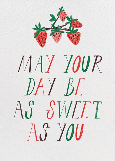 Sweet Seedless Strawberry Day - Mr. Boddington's Studio