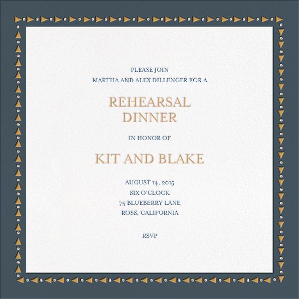 Polaroid Party - Black - Mr. Boddington's Studio - Rehearsal dinner - card back
