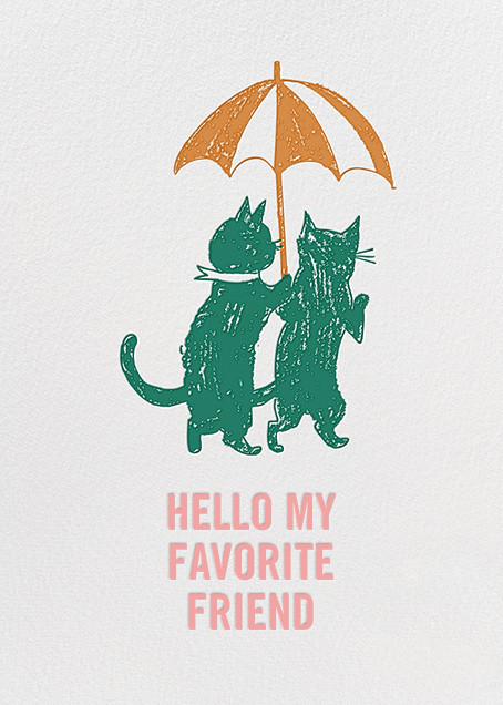 Hi Kittie - Green - Mr. Boddington's Studio - Just because