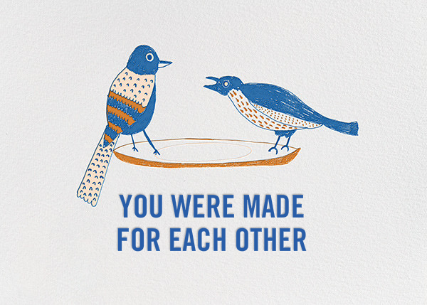 Bird Seed - Blue - Mr. Boddington's Studio - Anniversary