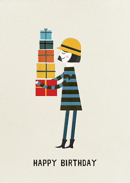 Birthday Girl (Blanca Gomez) - Red Cap Cards - Birthday