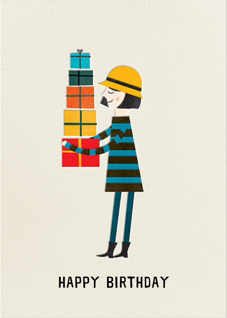 Birthday Girl (Blanca Gomez) - Fair - Red Cap Cards