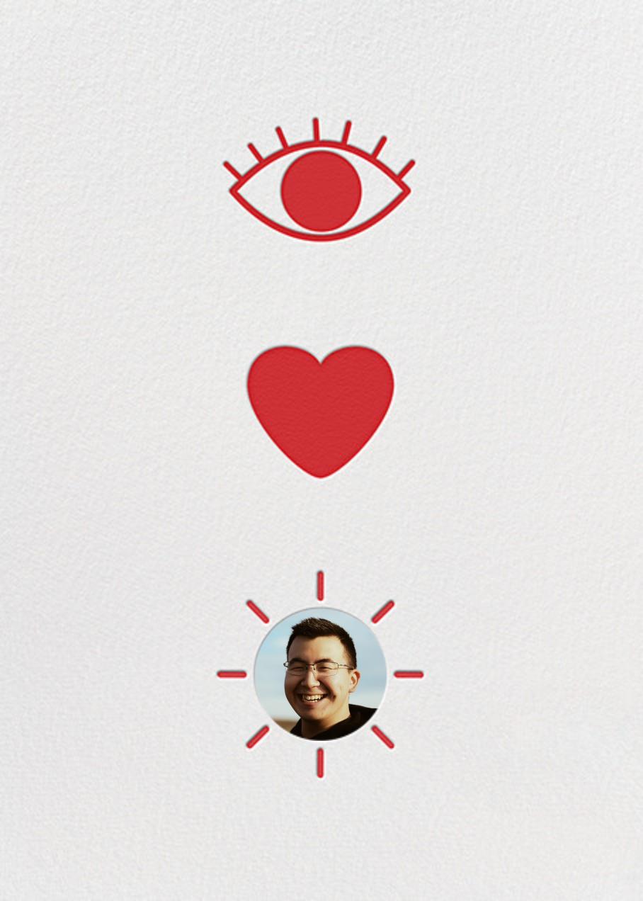 Eye Heart You - Paperless Post