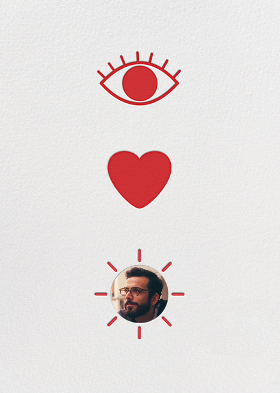 Eye Heart You - Paperless Post - Love and romance