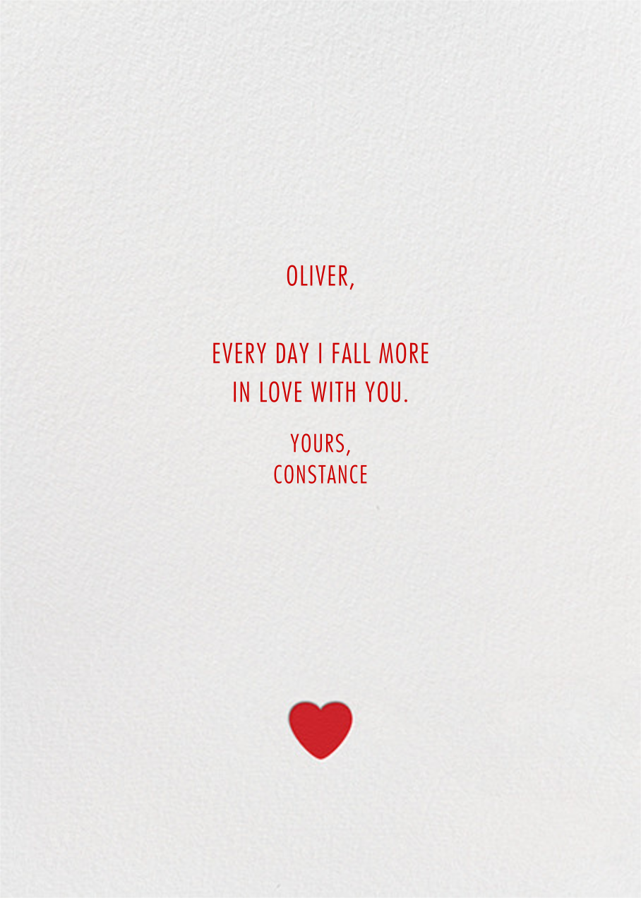 Eye Heart You - Paperless Post - Love and romance - card back