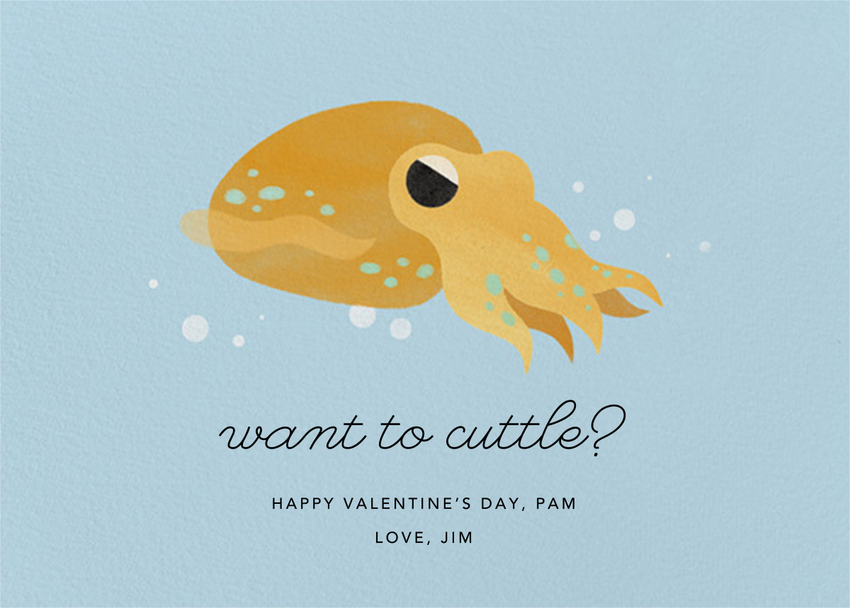Cuttle With Me - Paperless Post - Valentine's Day
