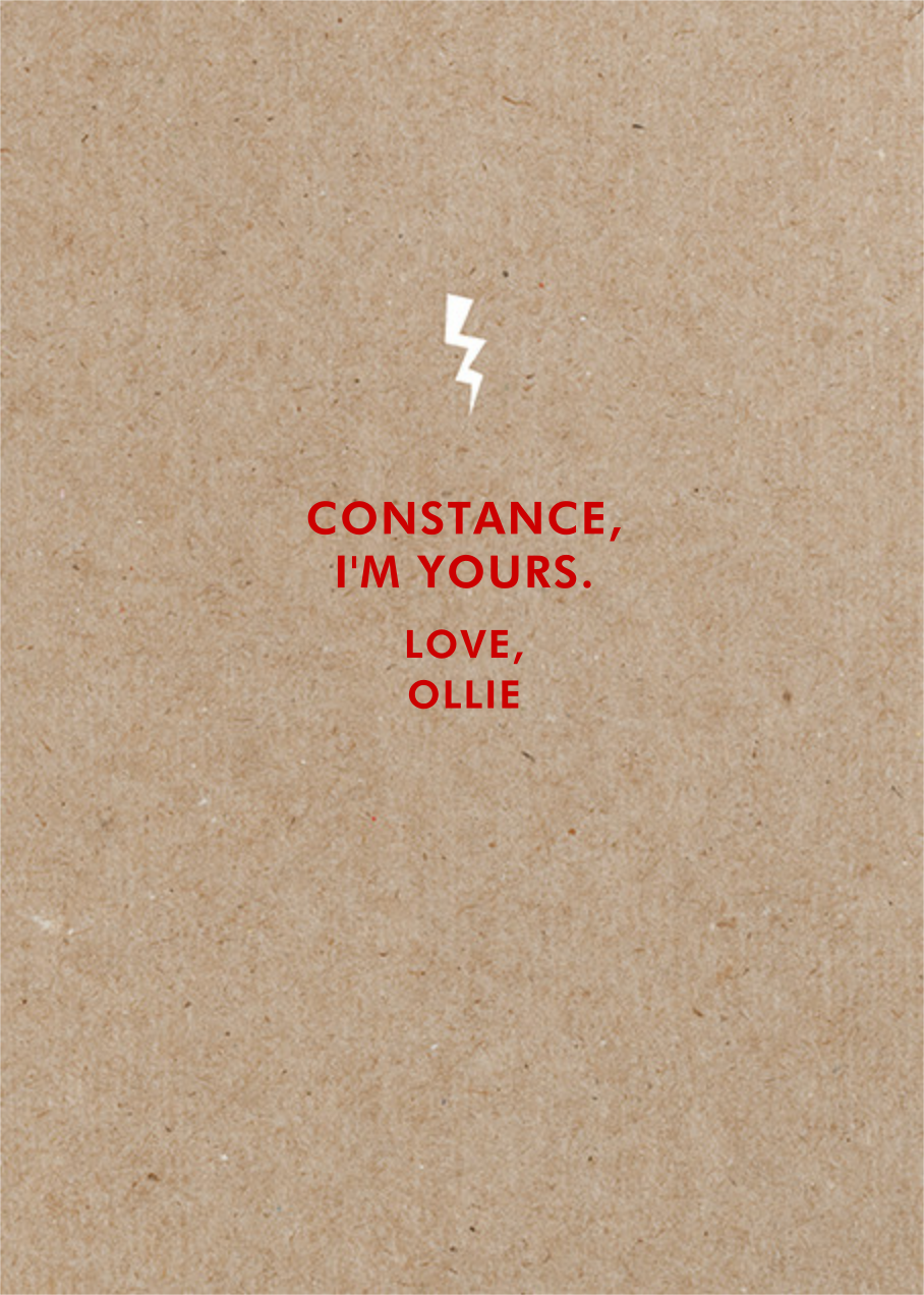 I'm Attracted 2 U - Paperless Post - Love cards - card back
