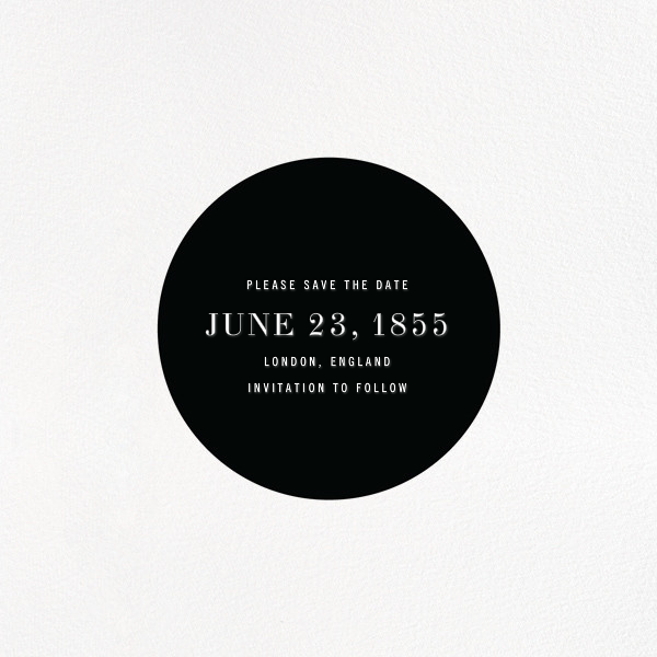 Circle Line - Paperless Post - Save the date - card back