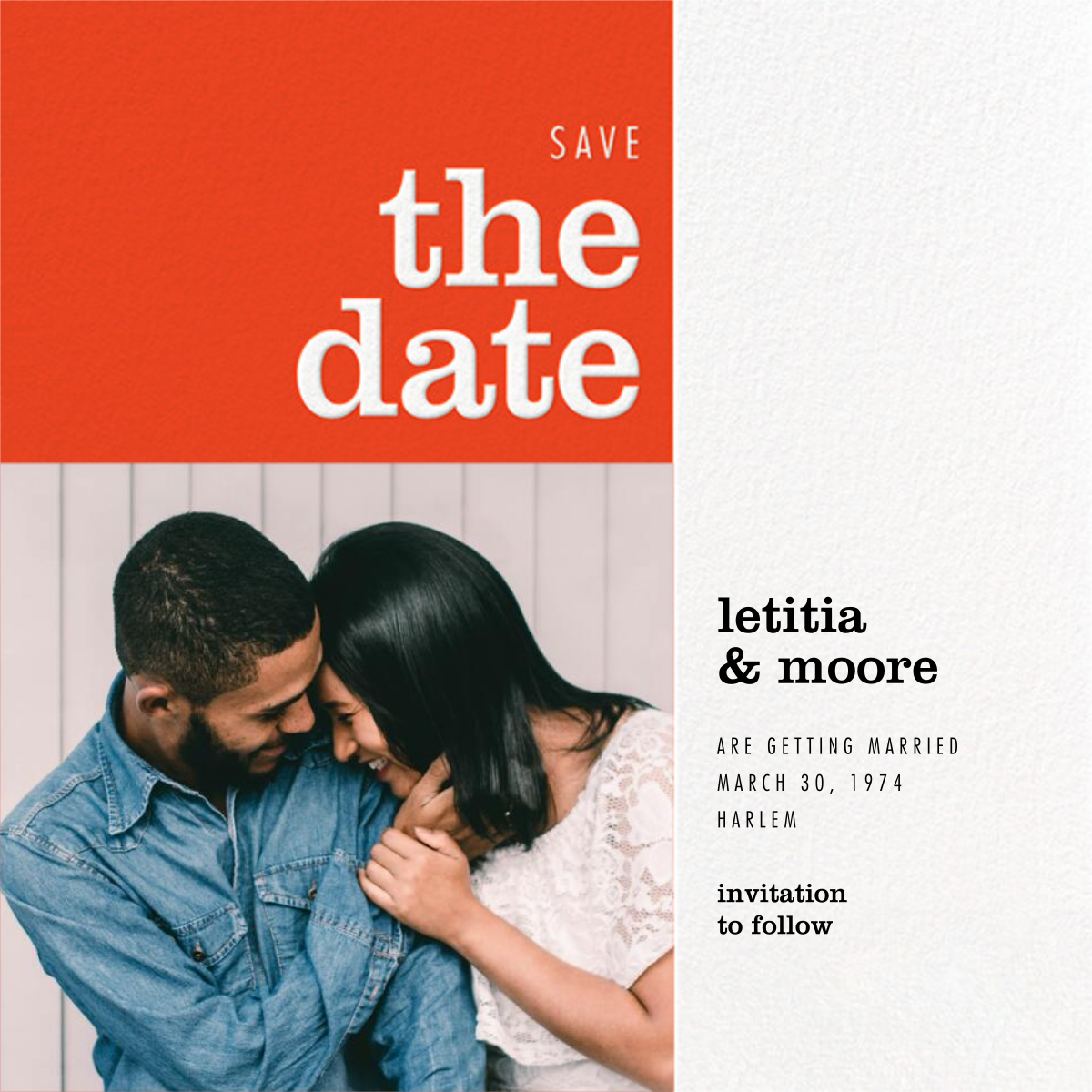 Edition - Paperless Post - Party save the dates