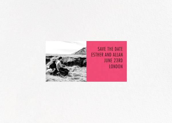 Litmus - Horizontal (Pink) - Paperless Post - null