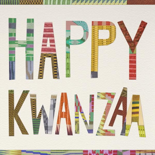 Happy Kwanzaa - Paperless Post - Kwanzaa
