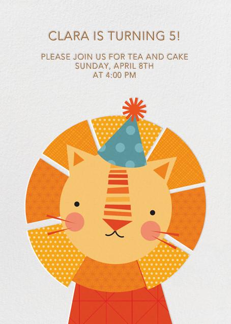 Party Lion - Petit Collage - Kids' birthday