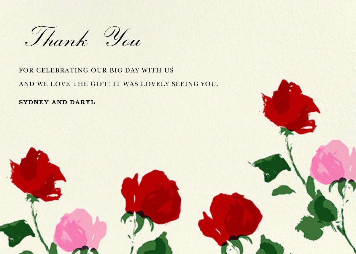Rose (Thank You) - kate spade new york - Wedding