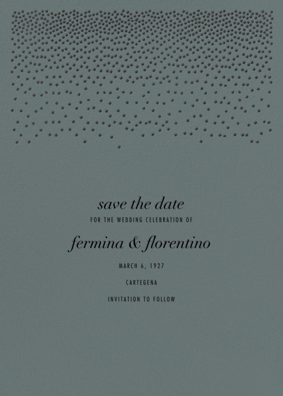 Jubilee II (Save the Date) - Gray - Kelly Wearstler - Save the date